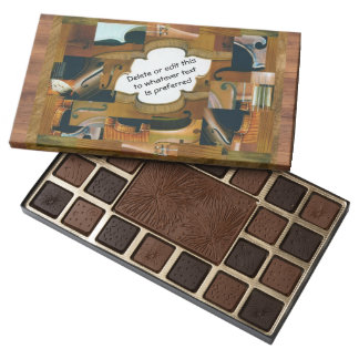 Stringed Instrument Collage All Occasion Assorted Chocolates