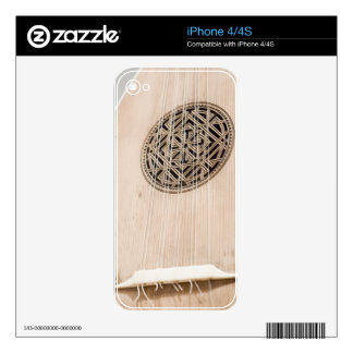 Stringed Instrument IV Decals For The iPhone 4
