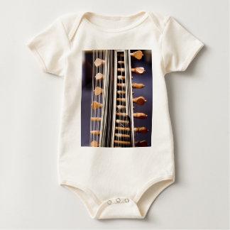 Stringed Instrument V Baby Bodysuit