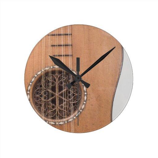 Stringed Instrument VI Wall Clocks