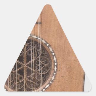Stringed Instrument VI Triangle Stickers