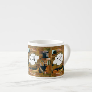 Stringed Instrument Window Custom Initial Espresso Cup