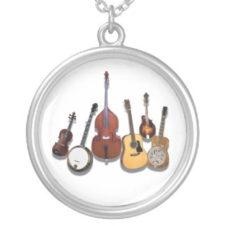 STRINGED INSTRUMENTS-NECKLACE