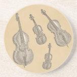 stringed instruments, line drawing, violin, viola,