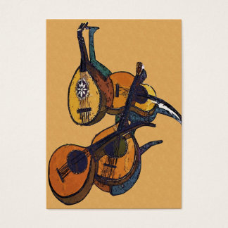 Stringed Musical Instruments Business Card