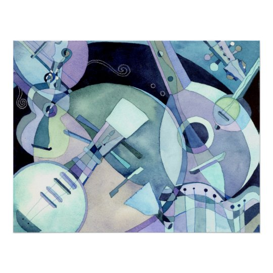 Stringed Musical Instruments Print