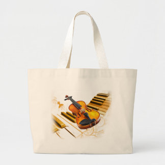 Strings and Keys_ Canvas Bag