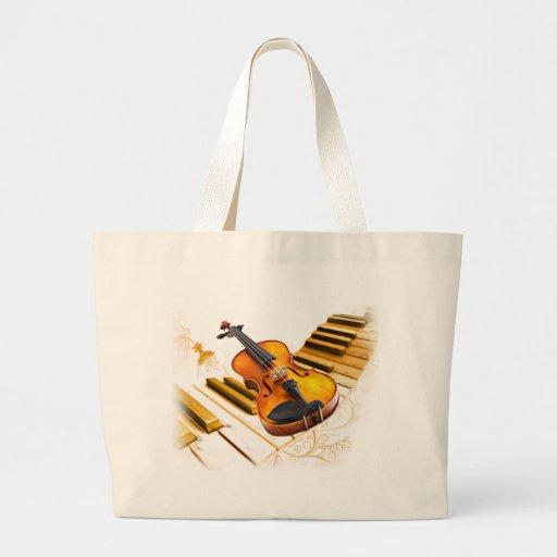 Strings and Keys_ Canvas Bag