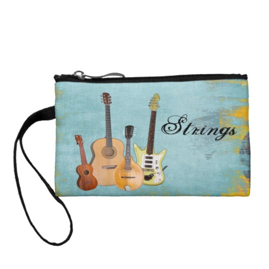 Strings-Four Instruments Coin Purse