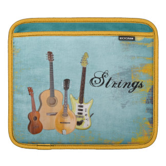 Strings-Four Stringed Instruments Sleeve For iPads