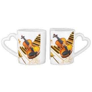 Strings & Keys_ Coffee Mug Set
