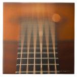 Strings of Acoustic Guitar Ceramic Tile