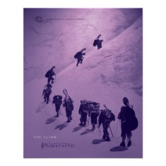 Strings on The Climb Poster