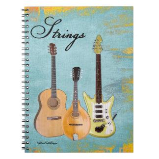 Strings-Three Instruments Notebook