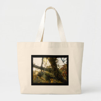 Stringy Things Large Tote Bag