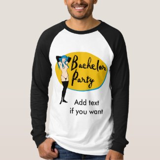 Strip Club Bachelor Party T-shirt
