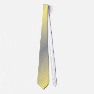 Strip of yellow grey stripes yellow gray grey neck tie