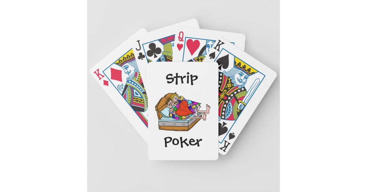 i played strip poker