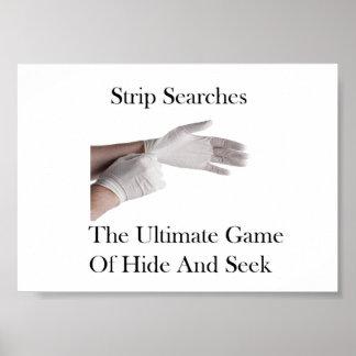 """Strip Searches"" Poster"