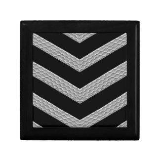 Strip Texture Trinket Box