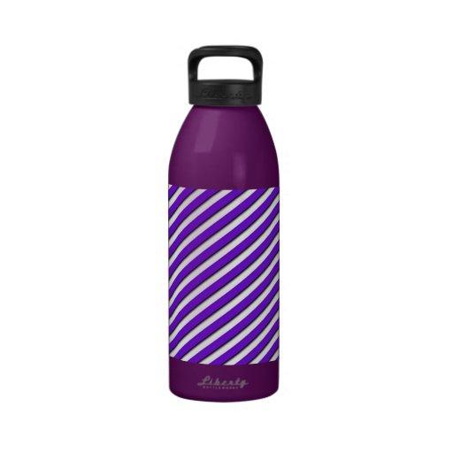 Stripe2 Botellas De Agua Reutilizables