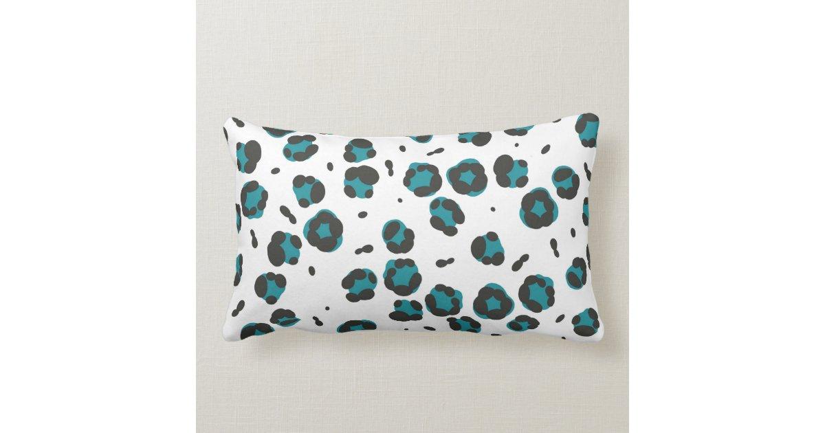 Stripe and Leopard Print Lumbar Pillow Zazzle