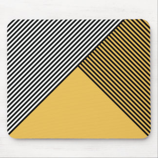 Stripe Art ..Choose Your Own Colors. Mouse Pad
