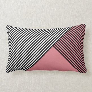 Stripe Art ..Choose Your Own Colors Throw Pillow