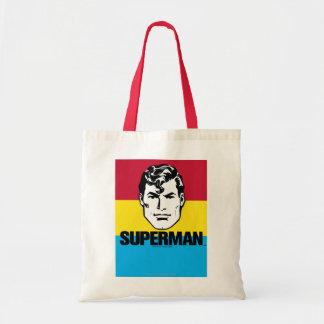 Stripe Boy - Superman Tote Bags