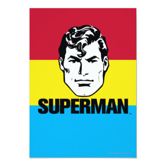 Stripe Boy - Superman Card