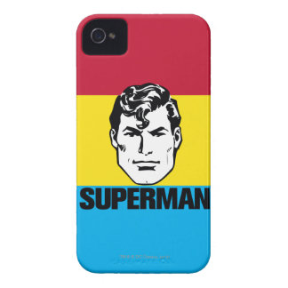 Stripe Boy - Superman iPhone 4 Cover
