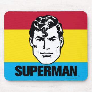 Stripe Boy - Superman Mousepads