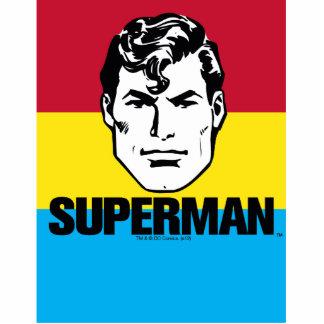 Stripe Boy - Superman Standing Photo Sculpture