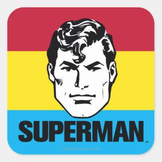 Stripe Boy - Superman Sticker