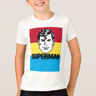 Stripe Boy - Superman T-Shirt