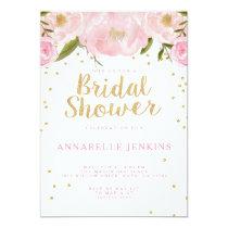 Stripe Bridal Shower Party Invitation