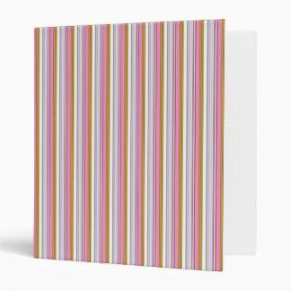 Stripe Brownish Binder