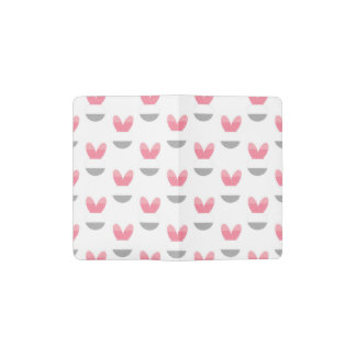 Stripe Bunny Moleskine Pocket Moleskine Notebook