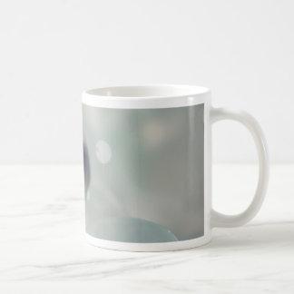 Stripe Candy Sea Glass Coffee Mugs