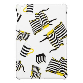 Stripe Chairs, mugs and boxes Cover For The iPad Mini