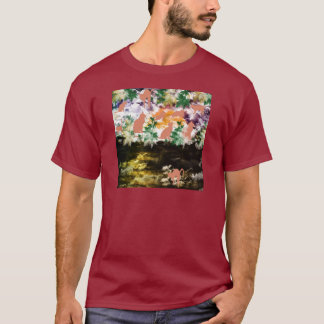 Stripe common coastal highway and cat T-Shirt