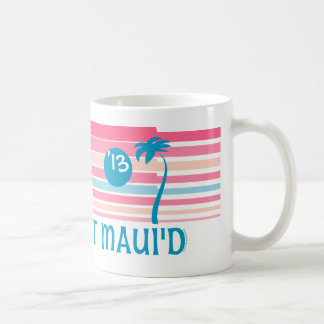 Stripe Just Maui'd Classic White Coffee Mug