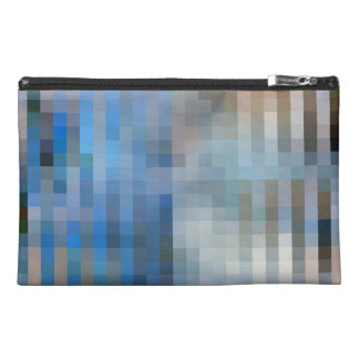 Stripe Mosaic Travel Accessory Bags