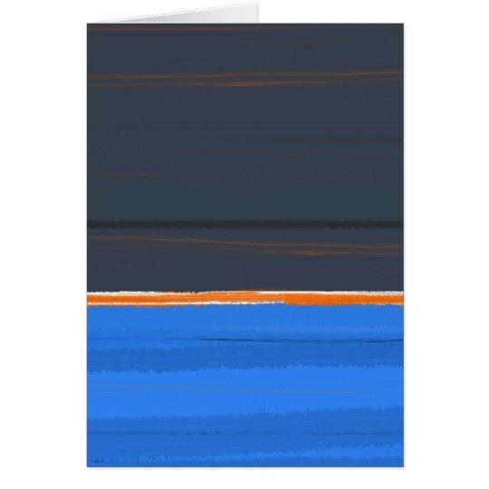 Stripe Orange Card