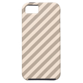 Stripe Pattern in Neutral Colors . iPhone SE/5/5s Case