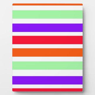 Stripe Pattern Display Plaque