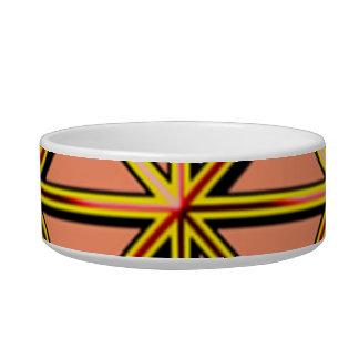 Stripe pet bowl