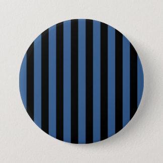 Stripe Pinback Button