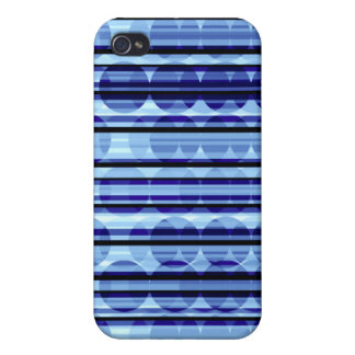 Stripe Polka Dots Blue iPhone 4 Speck Case Case For iPhone 4