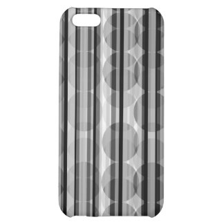 Stripe Polka Dots Gray iPhone 4 Speck Case iPhone 5C Cover